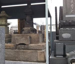 北条氏直の正室「督姫」の母の墓