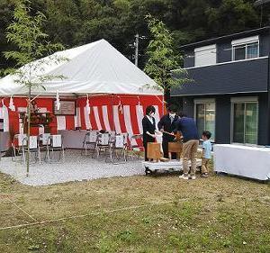 """""""横浜の家""""地鎮祭"""