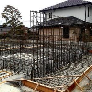 「弥生町の家」配筋検査