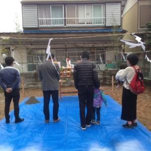 「福井町の家」地鎮祭