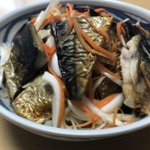 鯖は焼いた/りんご酢/花の好みの環境