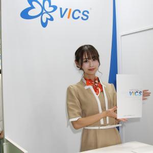 小川 舞 さん((一財)道路交通情報通信システムセンター ブース)