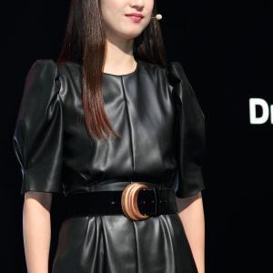 本城結実 さん(三菱自動車工業株式会社 ブース)