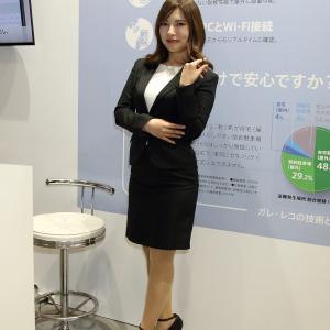 梅原 唯 さん(Exizzie-Line Co.,Ltd. ブース)