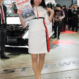 山口ミカ さん(Honda ブース)