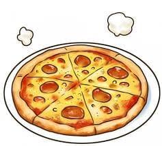 久しぶりにピザを注文