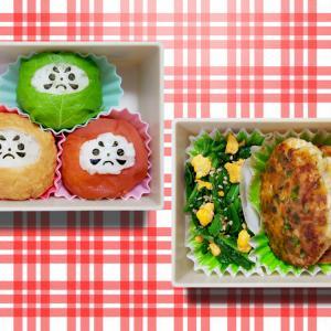 3色だるま弁当☆栄養3色