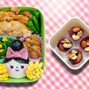 チアガール弁当☆世界3大ブレインフード