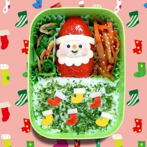 サンタクロース弁当☆パプリカの肉詰め