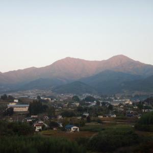 紅葉の乾徳山 2019 その1