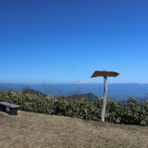 東根山にまた登ってきました。