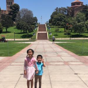 UCLA カリフォルニア大学ロサンゼルス校見学編①全米ベスト5の学食♡