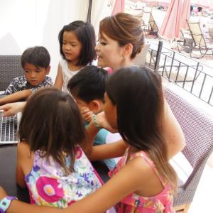 ハワイ在住の子達に読書感想文教えてきました(^^)