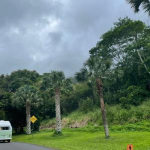 ハワイのキャンプ場