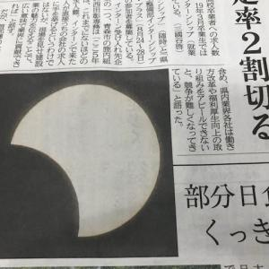 夏至&部分日食
