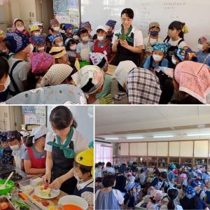 【小学校で出張料理教室】