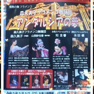 フラメンコ公演情報 ≪新宮市で踊ります≫