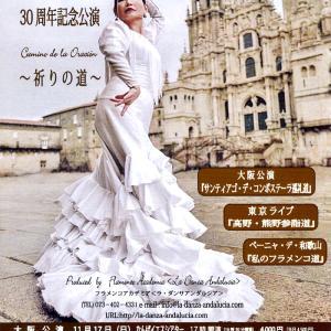 大阪、東京で フラメンコ公演♪