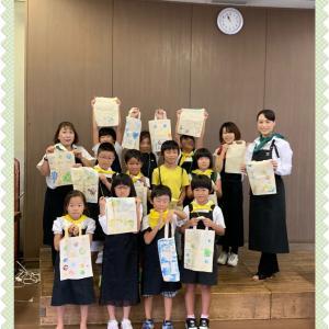 エコバック作り【野菜スタンプ教室 part 2】 in 有田市