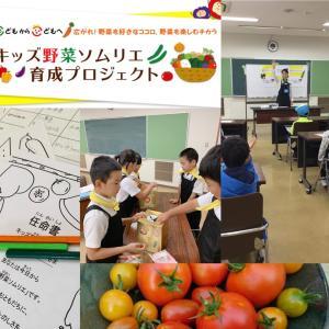 【15名誕生日❣️キッズ野菜ソムリエ】