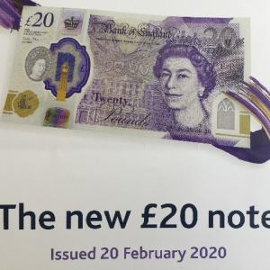 新しい20ポンド札は来年2月から!裏は画家のターナーさん