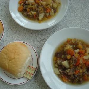 #おうちで過ごそう ウェールズ炭鉱で食べたスープを再現!