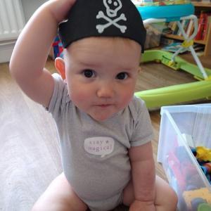 海賊になったコマゴちゃん&マゴ君♪