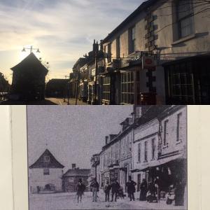160年間、あまり変わらない街並み