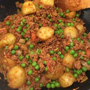キーマ・アル―(挽肉とポテトのインド料理)を作ってみた!