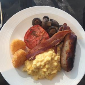 ホテルの朝食ビュッフェと、チェックアウト!