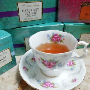 エステ後は女王様の特別な紅茶で