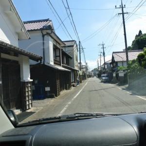 宮崎県日向 美々津の町並み