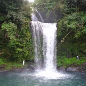 慈恩の滝と天ヶ瀬温泉へ