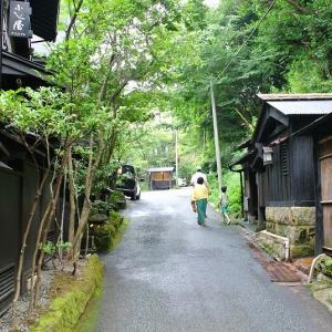 黒川温泉を散歩