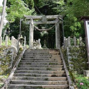 久しぶりに上色見熊野座神社