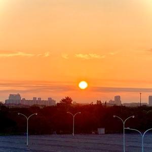日の出とともに☆