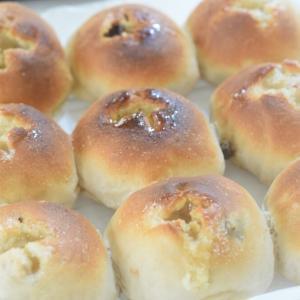 レーズンくるみパンを焼きました♪&「鬼滅の刃」