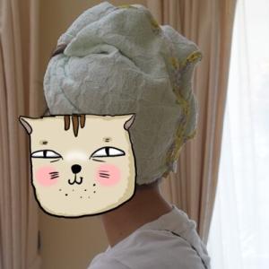 【簡単】バスタオルで作る娘の髪用ドライタオル【速乾】