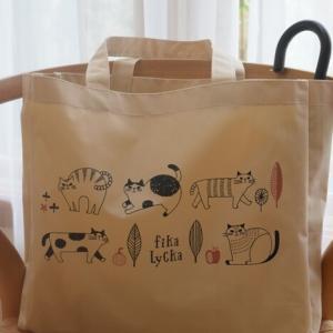 【ダイソー】北欧リサ・ラーソン風★FIKA LYCKA(フィーカリュッカ) ベビーシリーズが可愛い!【猫柄】