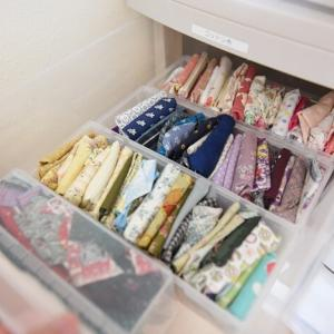 【チェストを断捨離2】使いそうにない布を処分!手芸用の布を整頓しました(・∀・)