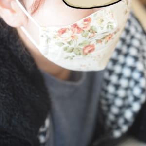 【本格的な冬の前に】またまたマスク作り&コタツ用椅子脚カバー作り