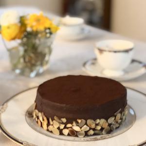 ラム酒香るチョコレートケーキ