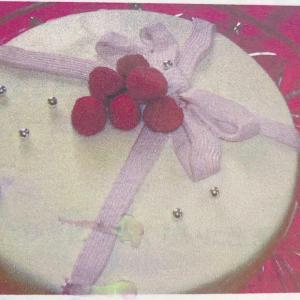 募集「アールグレイ風味ホワイトチョコレートのケーキ」レッスン