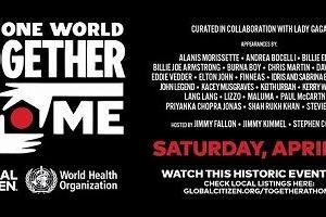 WHOとレディー・ガガ、新型コロナ対策支援オンラインライブを4月19日に開催