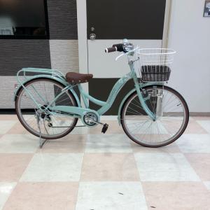 自転車買ってもらったよ