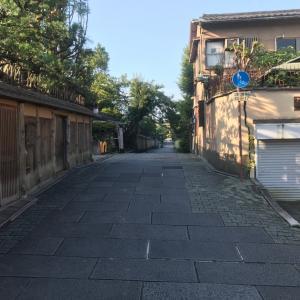 京都、誰も居ない