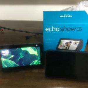 echo show5が調子悪いから交換。