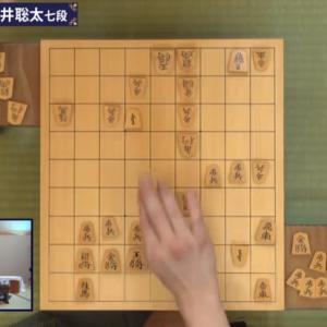 藤井七段大逆転 王位戦第2局