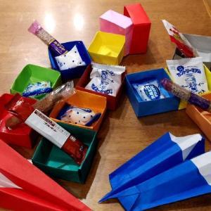 折り紙で箱作り