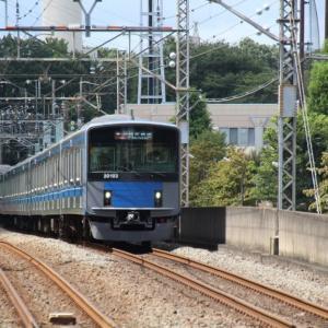 東大和駅にて